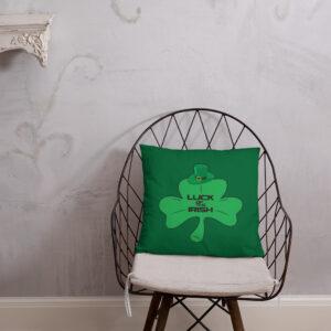 Luck Of The Irish Basic Pillow