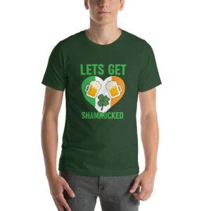 Lets Get Shamrocked Short-Sleeve Unisex T-Shirt