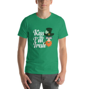 Kiss Me I'm Irish Short-Sleeve Unisex T-Shirt