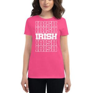 Irish Women's short sleeve t-shirt