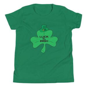 Luck Of The Irish Youth Short Sleeve T-Shirt