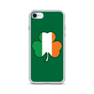 Ireland Cloverleaf Flag iPhone Case