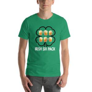 Irish Six Pack Beer Short-Sleeve Unisex T-Shirt