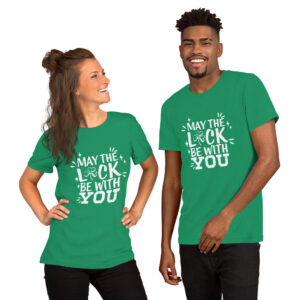 May The Luck Of The Irish  Be With You Short-Sleeve Unisex T-Shirt