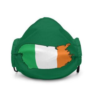 Ireland Flag Premium face mask