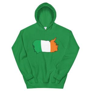Ireland Flag Unisex Hoodie
